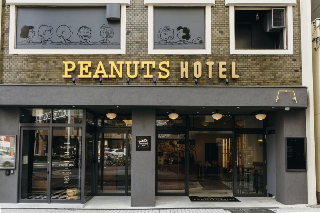 Peanuts Hotel in Japan