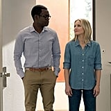 Chidi and Eleanor From The Good Place