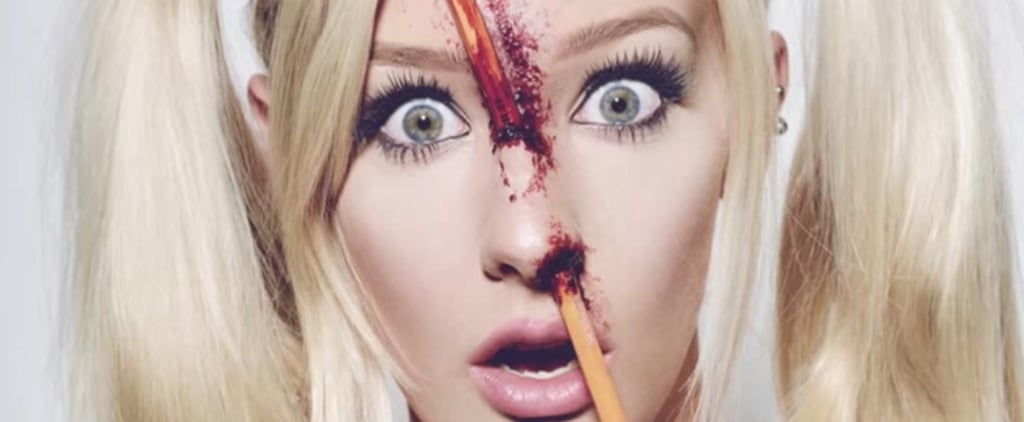 Spice Up Your Sexy Schoolgirl Costume With This Bloody Impressive Makeup Tutorial