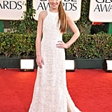 A halter-style Prabal Gurung confection on the Golden Globes red carpet.