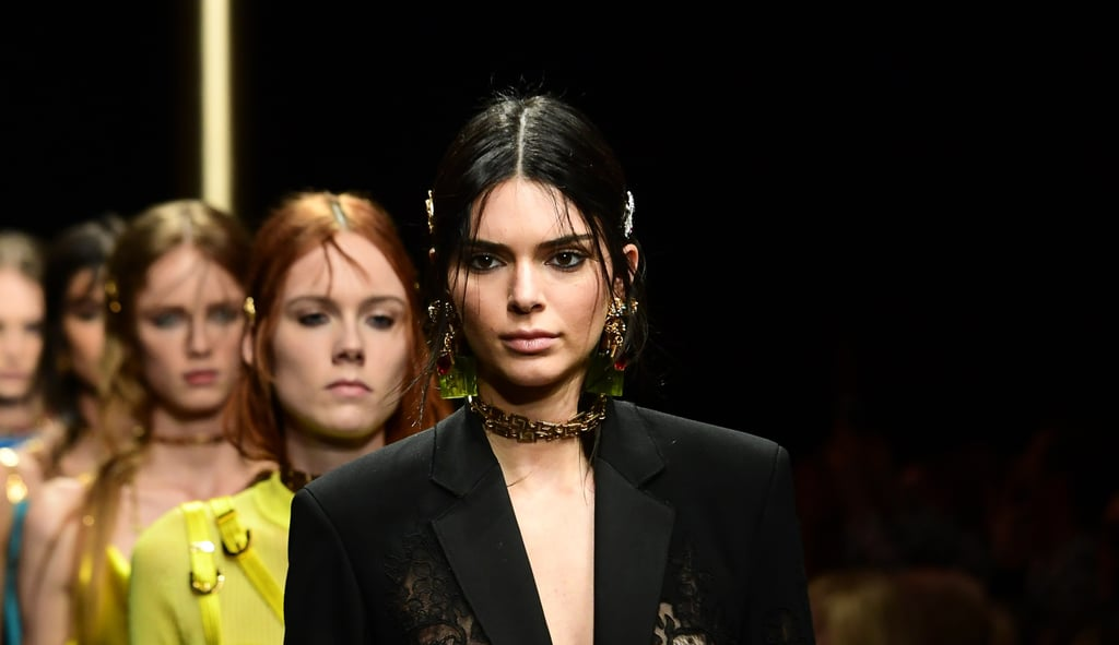 7505f6f7709a Kendall Jenner at Fashion Week Fall 2019 | POPSUGAR Fashion