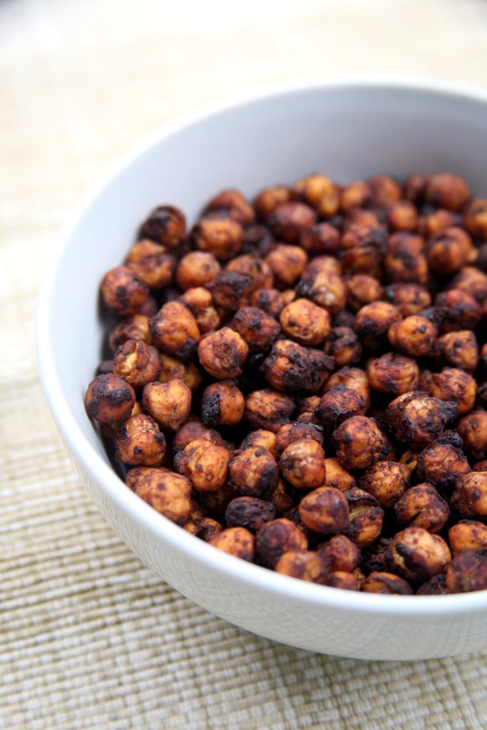 Cocoa Cinnamon Sugar Roasted Chickpeas