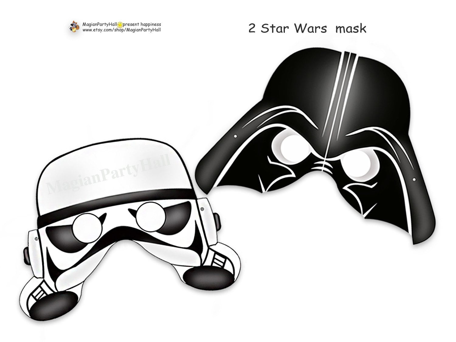 It's just a picture of Darth Vader Mask Printable regarding logo
