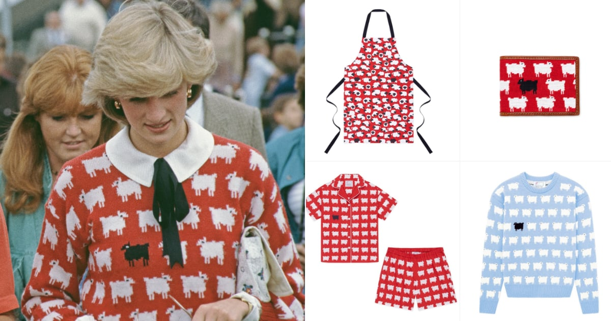 '80s Brand Behind Princess Diana's Sheep Sweater Launches a New Collection For the Festive Season.jpg