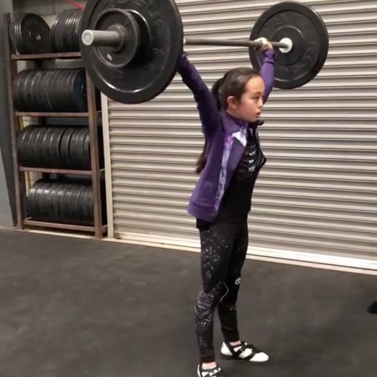 Who Is Elle Hatamiya? | Young Weightlifting Girl