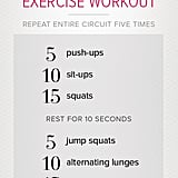 graphic relating to Printable Workouts at Home referred to as Printable Excess weight Physical exercises POPSUGAR Physical fitness Australia