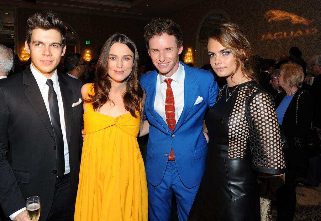 Stars Flock to BAFTA's Award Season Tea Party