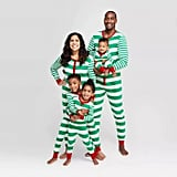 Target Striped Holiday Union Suit Pajamas