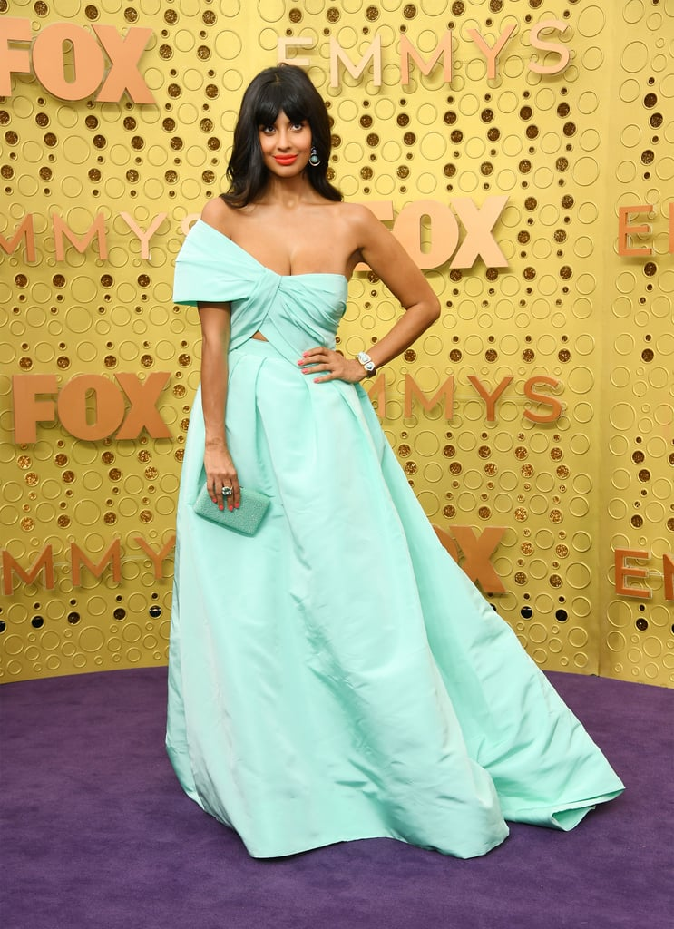 Jameela Jamil at the 2019 Emmy Awards