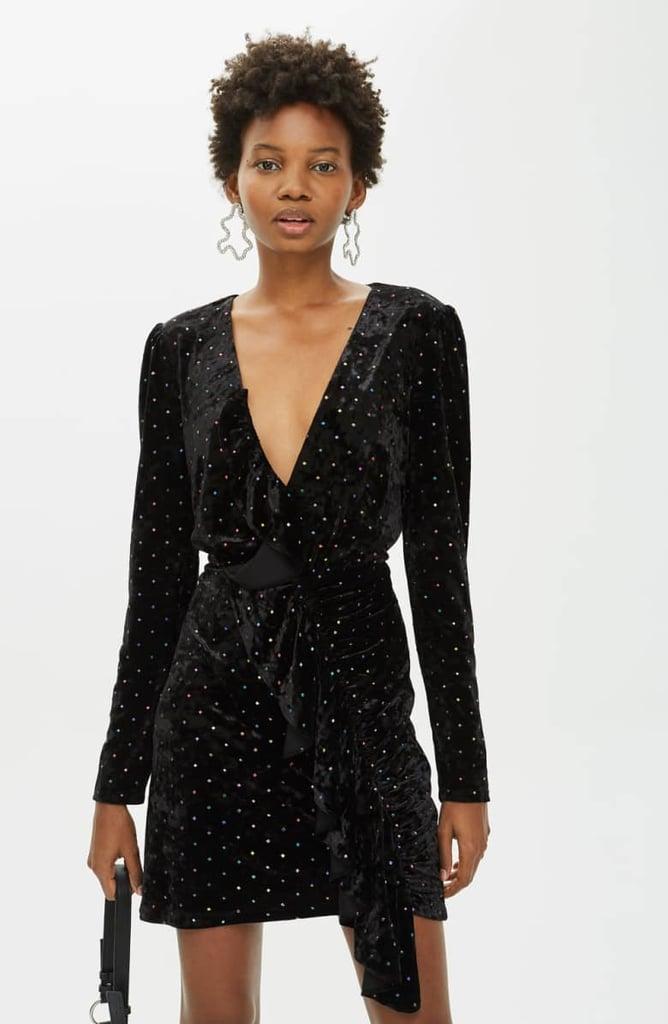 e67563ec440 Topshop Velvet Dress
