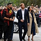 """Prince Harry's Reaction to Choir Singing """"Stand by Me"""" 2018"""