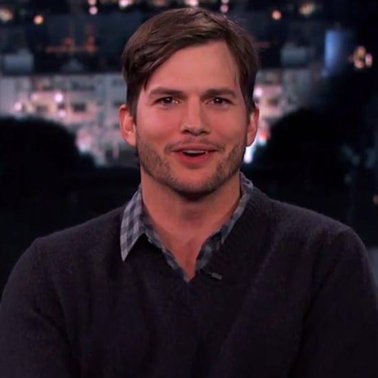 Ashton Kutcher Interview on Jimmy Kimmel Live February 2014