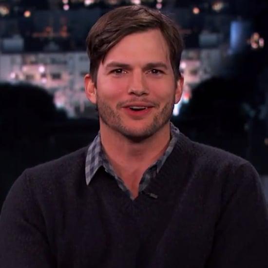 Ashton Kutcher Interview on Jimmy Kimmel Live February 2014