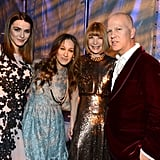 Sarah Jessica Parker posed with Anna Witnour and her daughter, Bee Shaffer, and Glee creator Ryan Murphy.