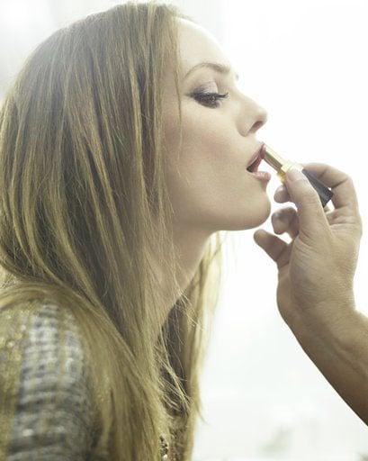 EXCLUSIVE: Vanessa Paradis Models Chanel Rouge Coco Shine!