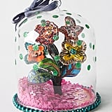 Anthropologie Alice Cloche Flowers Ornament