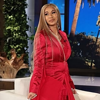 Cardi B on The Ellen DeGeneres Show April 2018