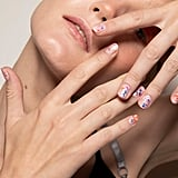 Paint-Splattered Nails at Vivetta Spring 2020