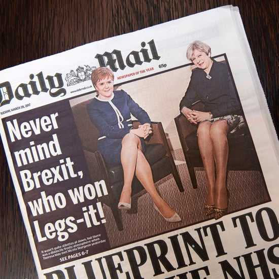 Daily Mail Cover of Theresa May and Nicola Sturgeon
