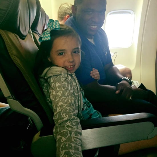 Southwest Flight Attendant Comforts Scared Little Girl