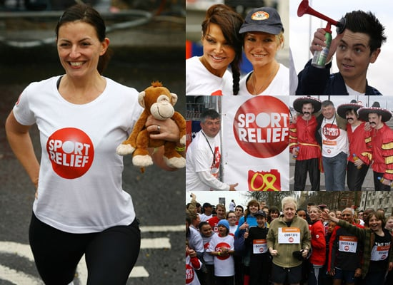 Davina McCall and Ray Quinn Join in 2008 Sport Relief