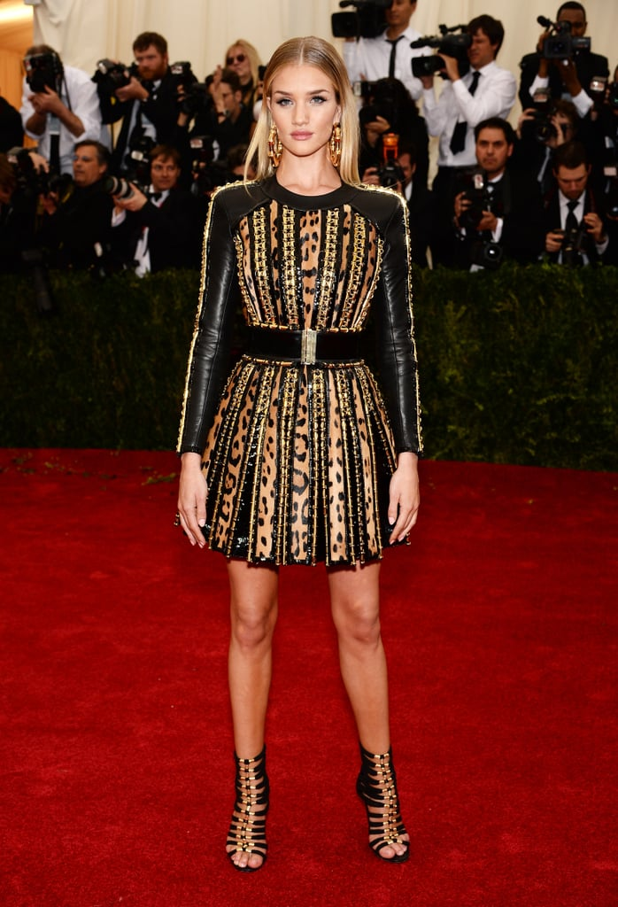 Rosie Huntington-Whiteley at the 2014 Met Gala