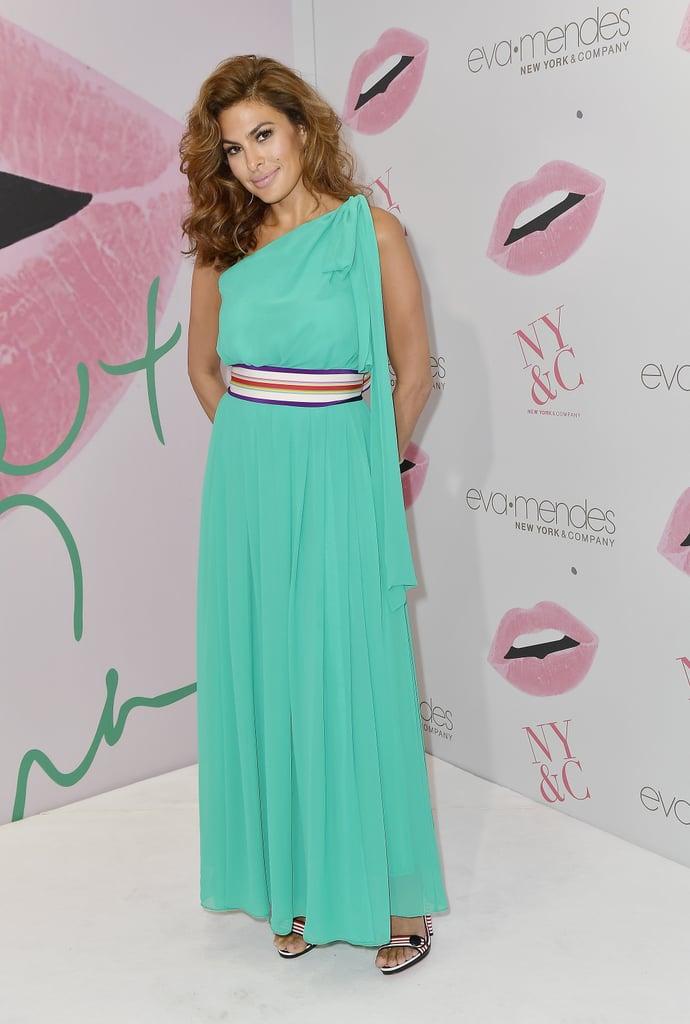 Eva Mendes Makes a Rare Appearance in Miami After Skipping Award Season