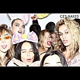 Cara celebrated her 26th birthday with Ashley and friends.