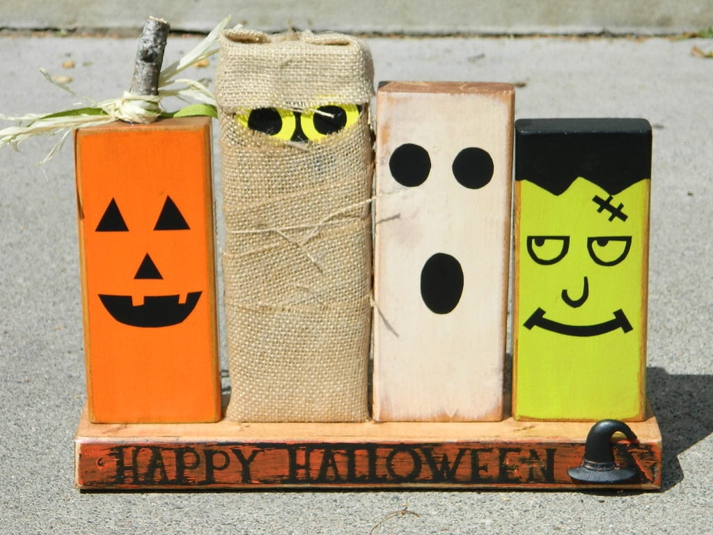 wooden halloween decoration cute kid friendly halloween decorations popsugar moms photo 12