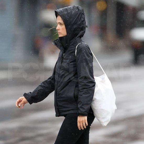 Prgenant Keri Russell in NYC.
