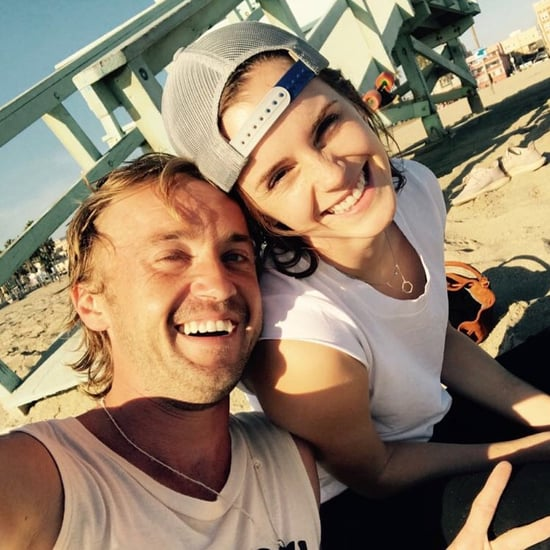 Emma Watson Tom Felton Reunion Photo 2018
