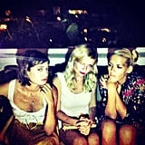 Busy Philipps gave off a moody vibe with pals Kirsten Dunst and Lizzy Caplan. Source: Instagram user busyphilipps