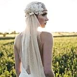 Bronze Juliet Bridal Cap