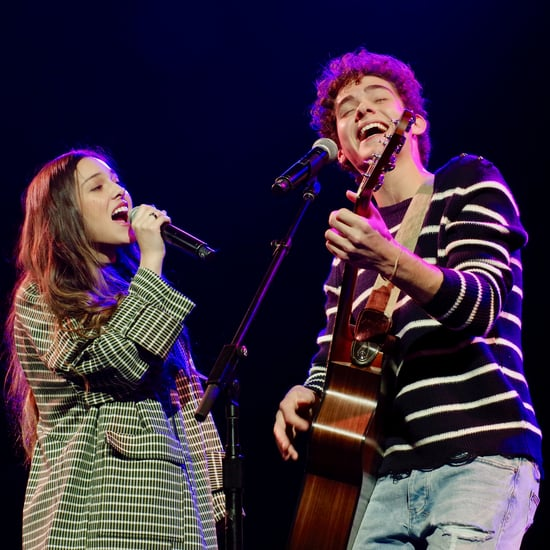 Joshua Bassett and Olivia Rodrigo at Junior Theater Festival