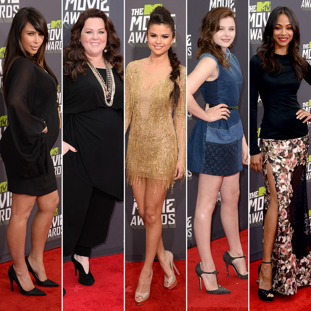 MTV Movie Awards Red Carpet Pictures 2013