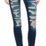 Current/Elliott The Stiletto / Benett Tattered Jean ($268)
