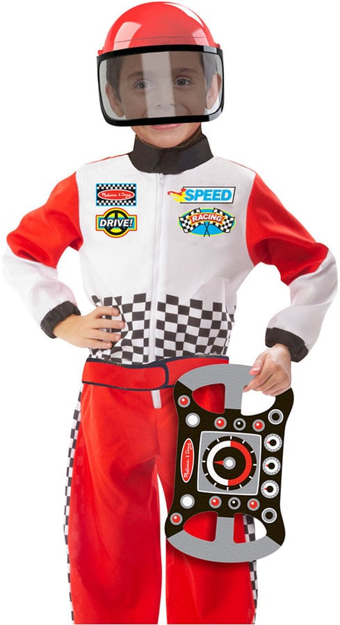 Race Car Driver Role Play Costume Set  sc 1 st  Popsugar & Race Car Driver Role Play Costume Set | Gifts For Kids Who Love ...