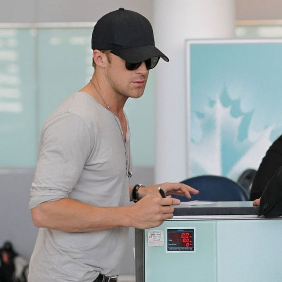 Ryan Gosling at Toronto Airport Pictures
