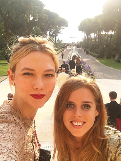 Karlie Kloss Shares a Selfie With Her 'Wedding Date': Princess Beatrice!