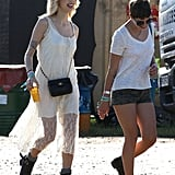 Peaches Geldof and Pixie Geldof