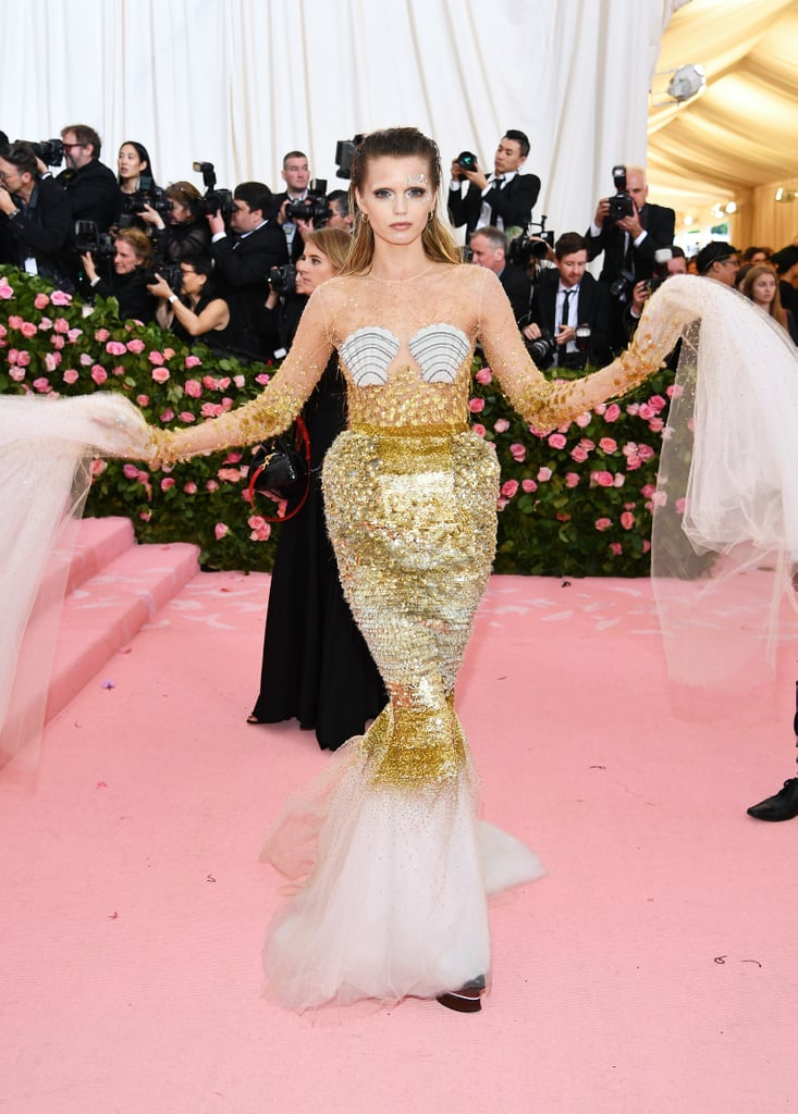 Abbey Lee Kershaw at the 2019 Met Gala