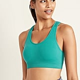 Old Navy Light Support Seamless Racerback Sports Bra