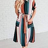Huiyuzhi Striped Dress