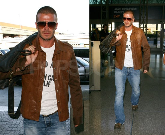 Oh No! Becks Rushes Home To Be With Ailing Father