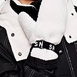 Topshop SNO Borg Mitten Ski Gloves