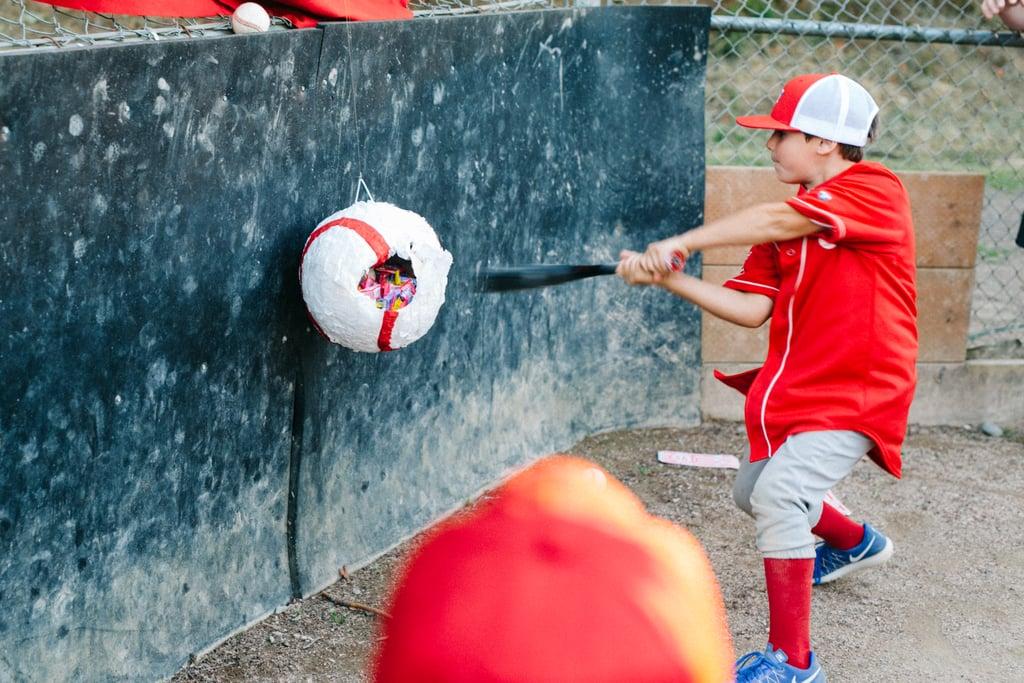 Kids Baseball Birthday Party
