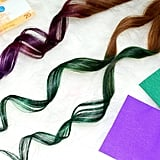 How to Color Hair Using CREPE PAPER! | (Cheap and Easy Hair Hack)