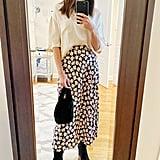 Editor's POPSUGAR Collection December Picks: The Printed Midi Skirt