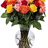 Benchmark Bouquets Rainbow Roses