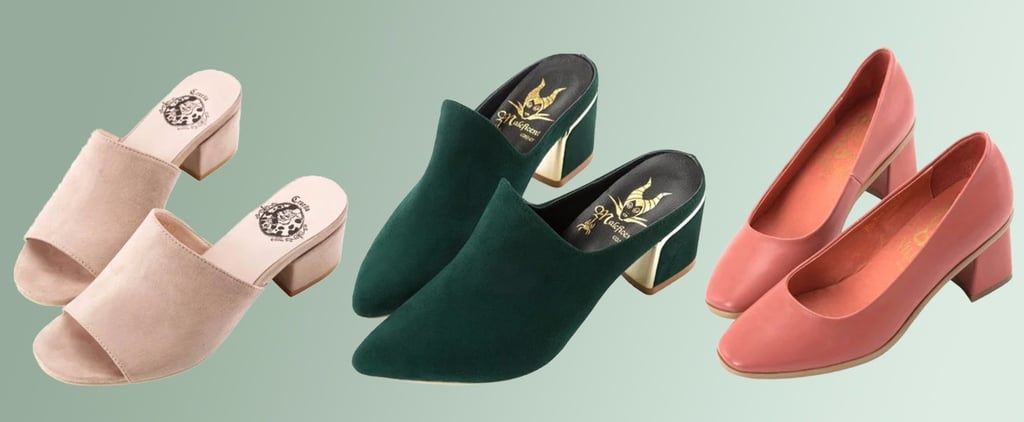 This Surprisingly Chic Shoe Line Is Inspired by Your Favorite Disney Villains
